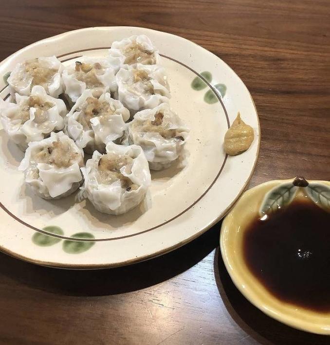 ザ★シュウマイと酢醤油