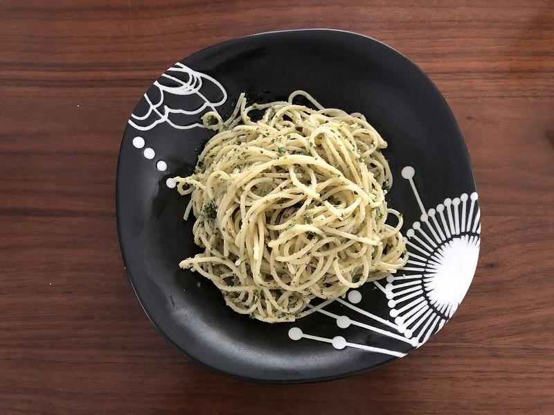 【レシピ】ドクダミジェノベーゼを作ってみたら予想通りの味だった